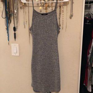 Forever 21 Marled Grey Tank Dress